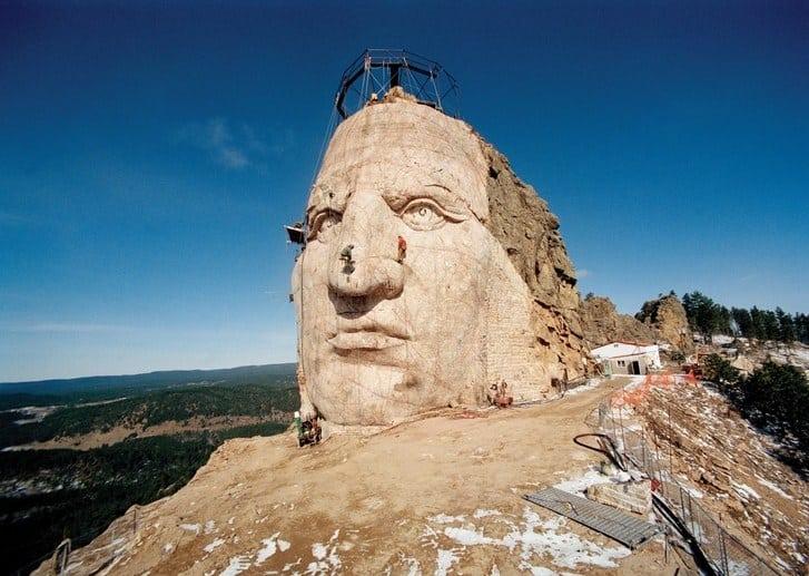 Crazy Horse Memorialhead