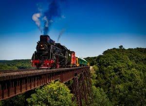 Cross Country Steam Train USA
