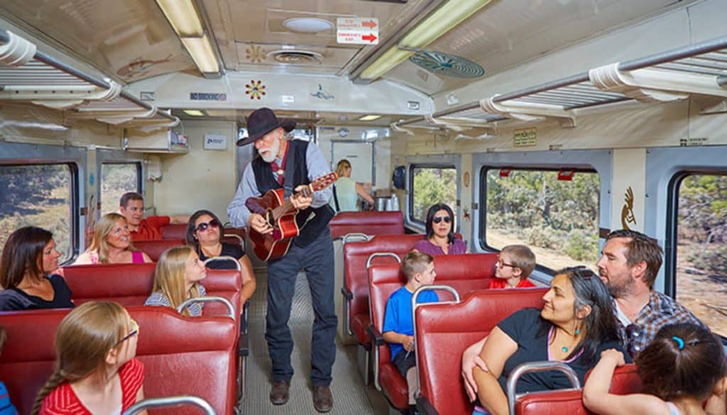 Grand Canyon Railway live music