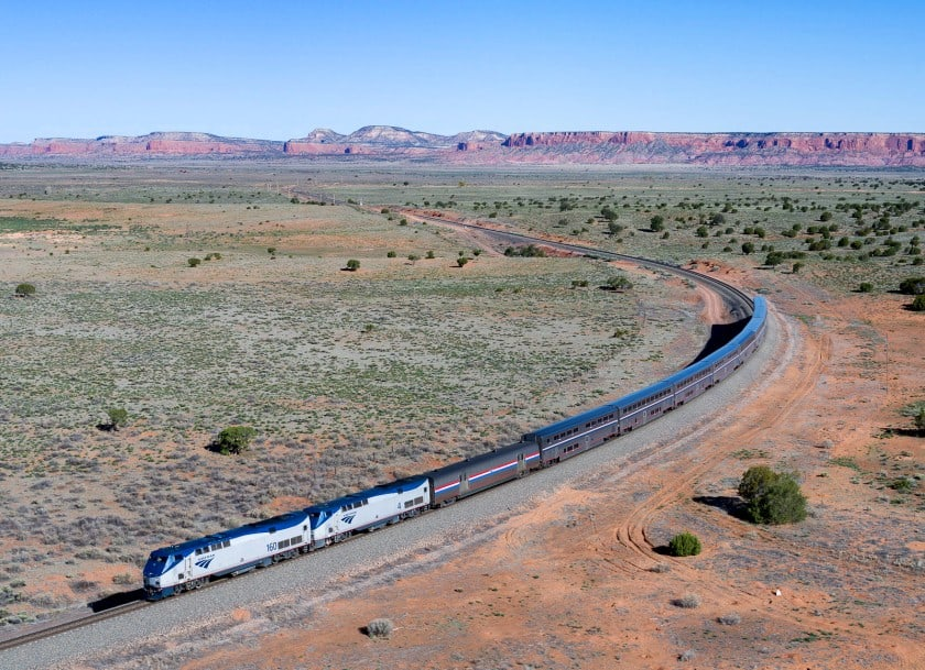 Southwest Chief route 66 train