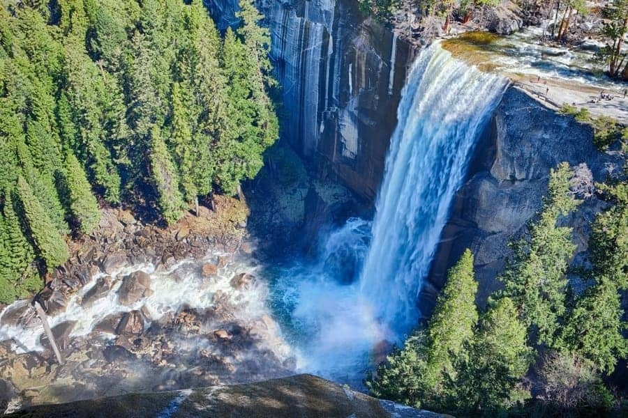 Yosemite National Park vernal Falls