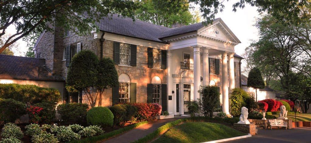 graceland house, Former home of Elvis Presley