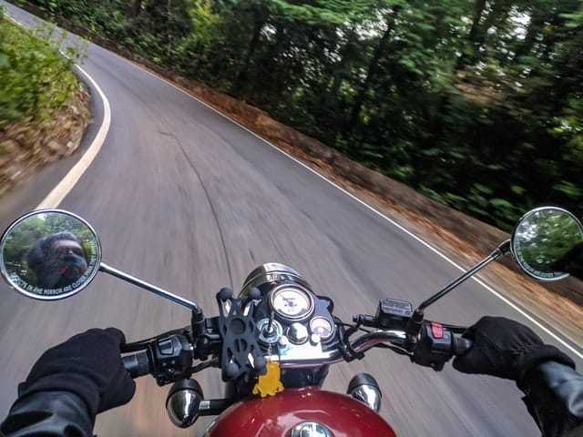 Solo Road Tripping is most popular via Motorcycle.