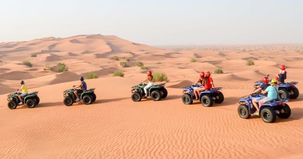 ATV Tour in Dubai