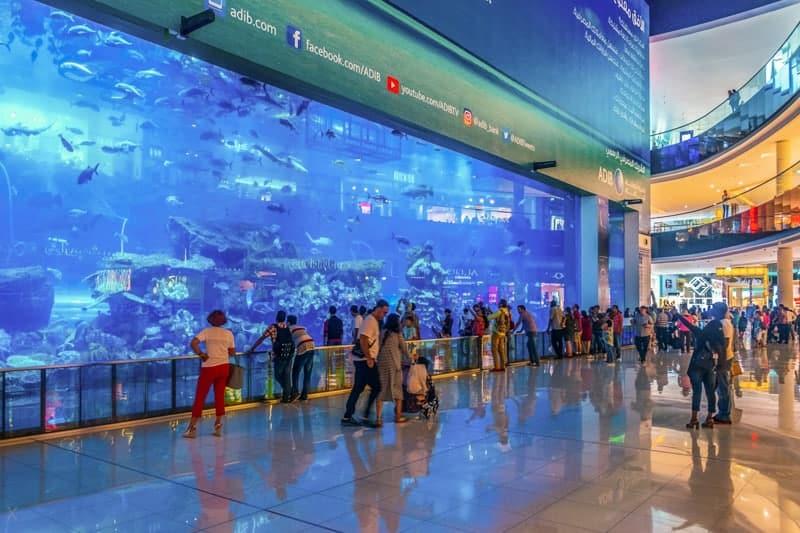 Dubai Mall & Aquarium