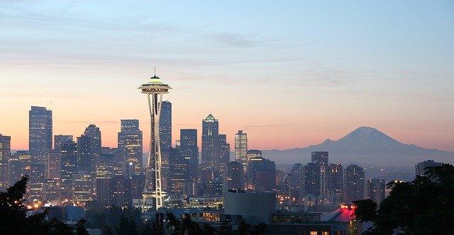 Seattle Washington road trip from LA