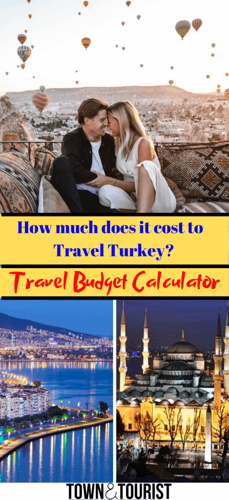 Turkey Travel Budget Calculator 1