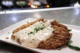 Chicken-fried steak, at Frank's Americana Revival.