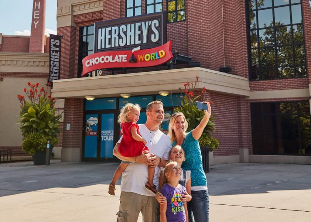 Hersheys Chocolate world!