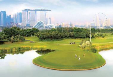 Marina Bay Golf course Singapore