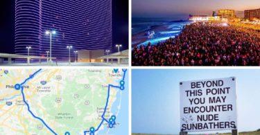 New York to Atlantic city road trip Itinerary