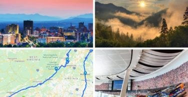 New York to Charlotte road trip itinerary, nyc to asheville