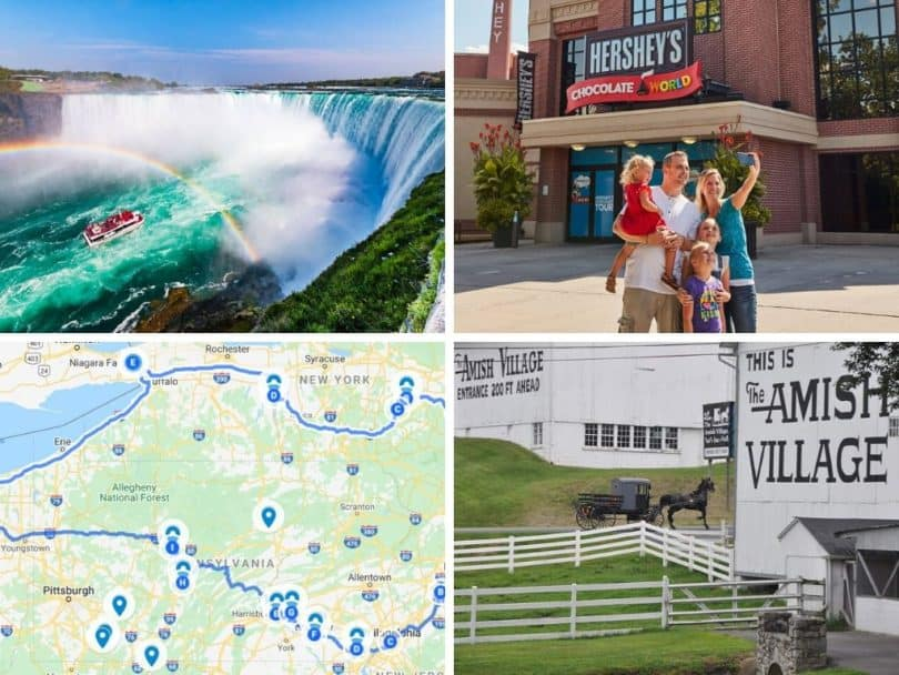 New York to Cleveland Road Trip Itinerary