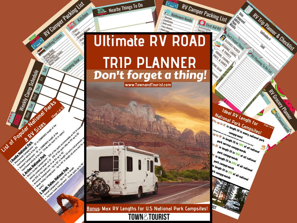 RV Road Trip Planner -