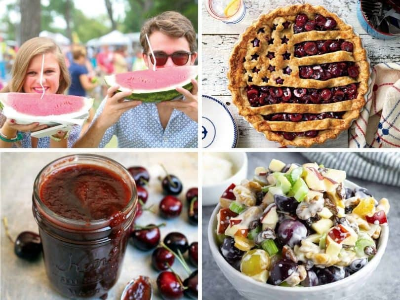 50 US State Fruits & Recipes