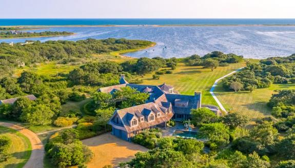 Marthas island Obama house