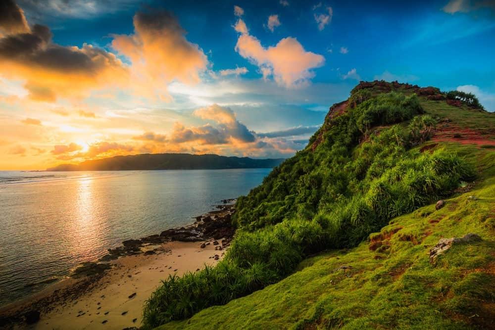 Sunset-in-Kuta-Lombok