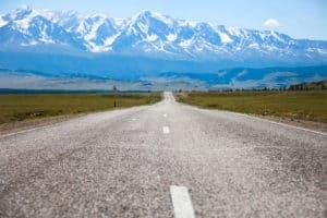 Denver to Montrose motorcycle road trip road.