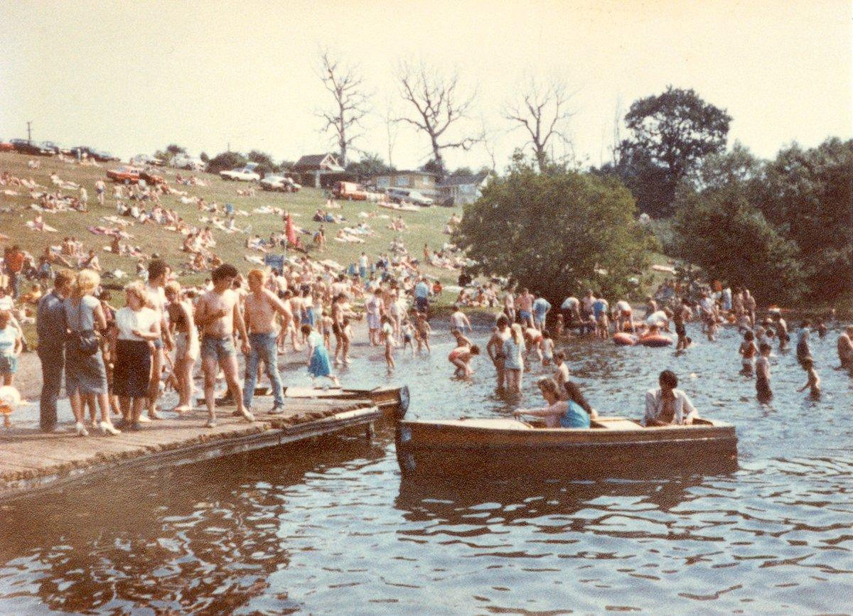 Lake Pickmere 1980's
