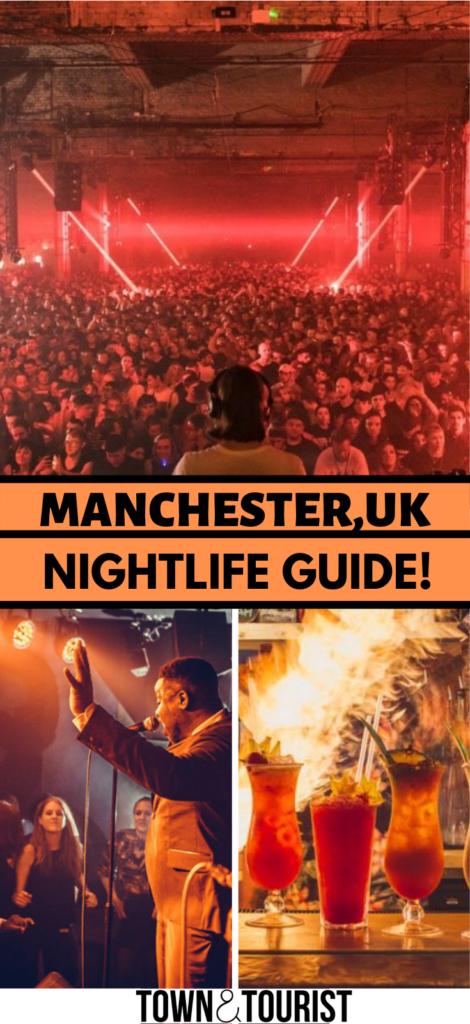 Manchester UK nightlife Town&TOurist