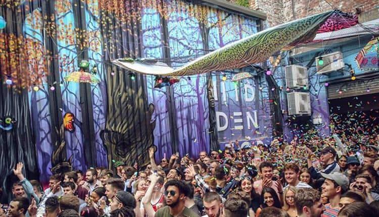 Hidden Manchester. rave 2021