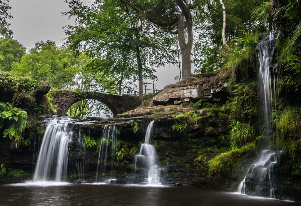 lumb falls near hebden bridge